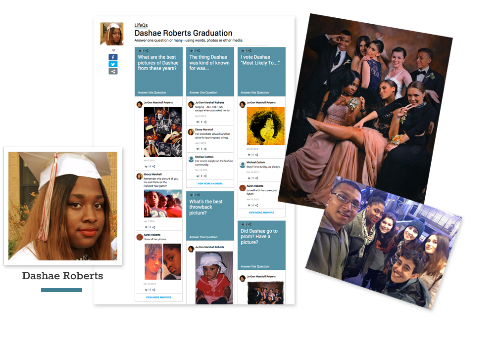 Celebrate a graduation online
