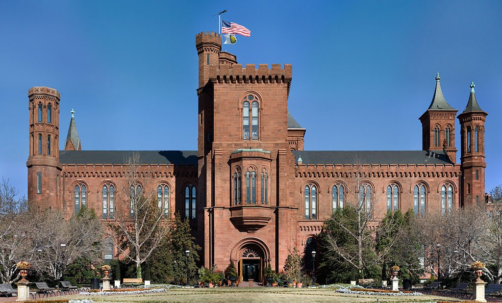 The Smithsonian Institute's headquarters. (Source: Wikimedia Commons)
