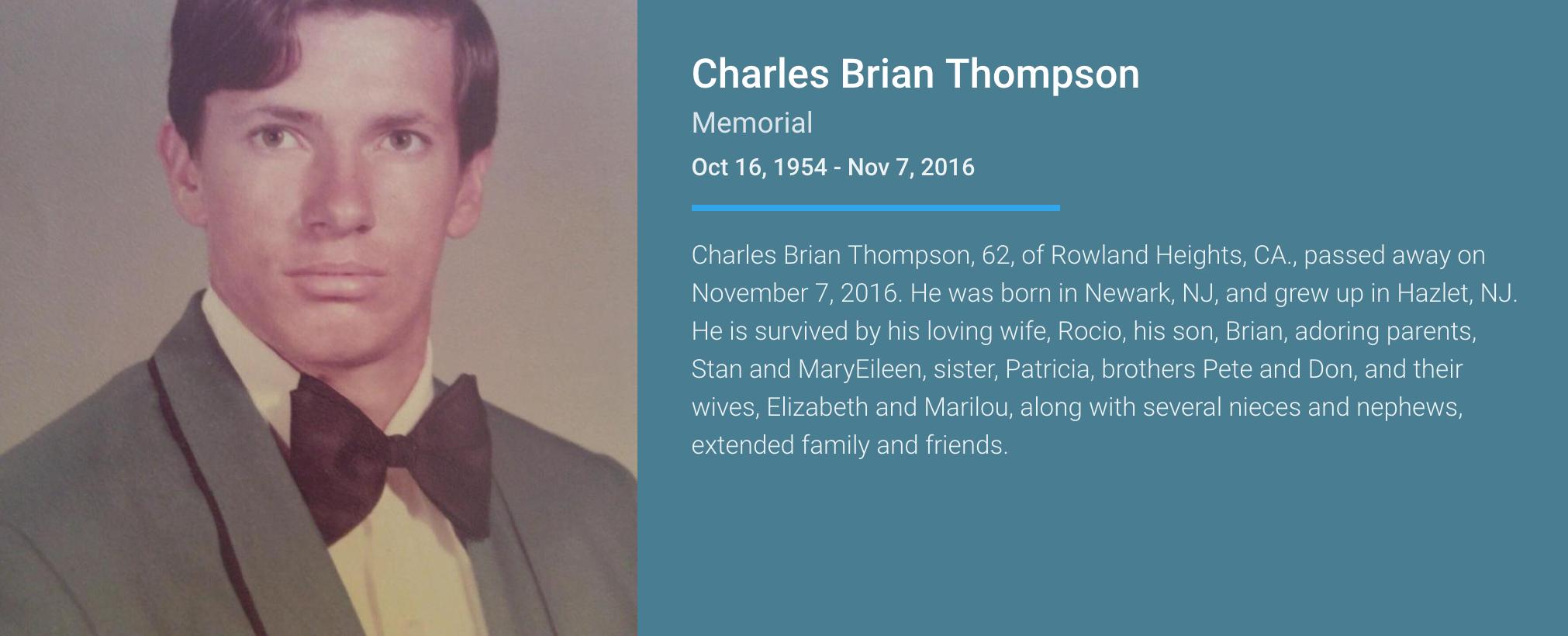 Charles Brian Thompson
