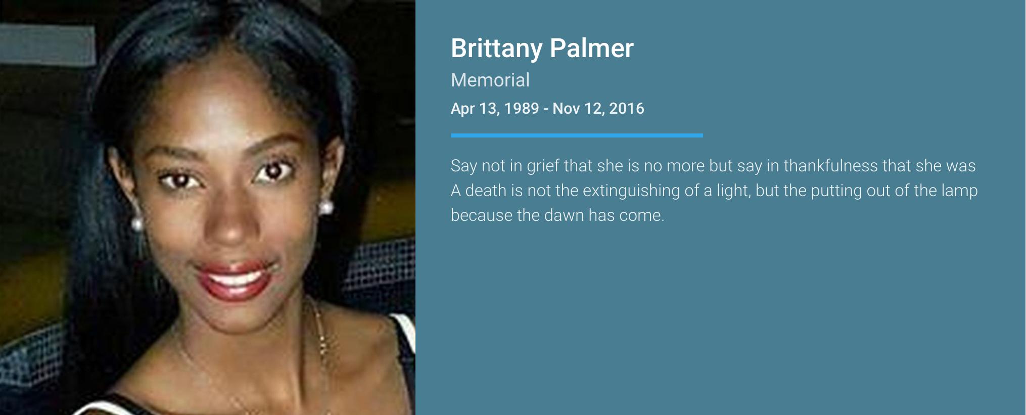 Brittany Palmer