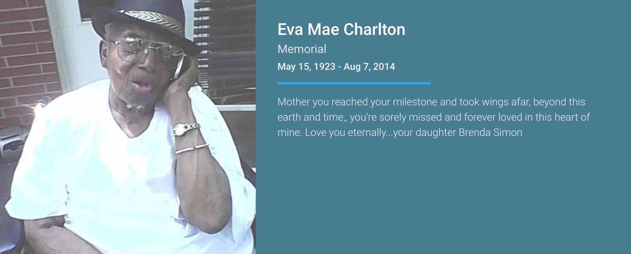 Eva Mae Charlton