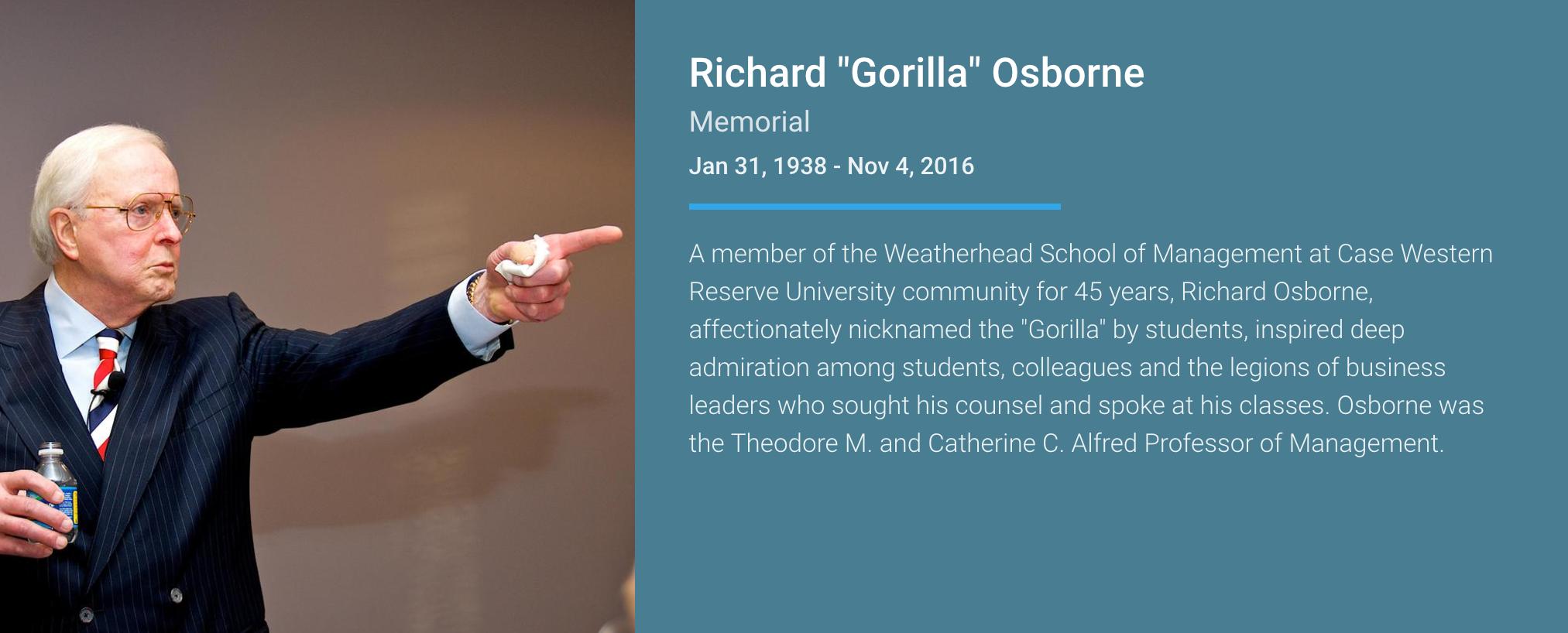 richard 'gorilla' osborne